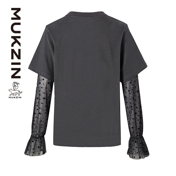 Mukzin Designer Brand Monster Print Shirt - MONSTER SWEETHEART