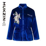 Mukzin Designer Brand Tang Suit Jacket - SPACE IN THE GOURD