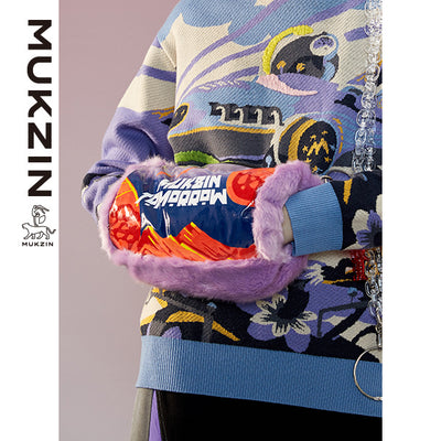 Mukzin Designer Brand Handbag-ADVENTURE IN SPACE