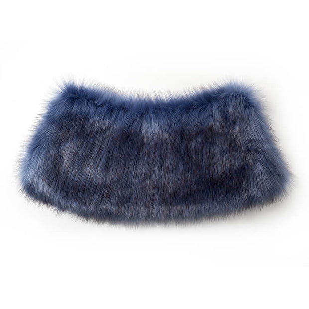 Mukzin Designer Brand Artificial Fur Replaceable Collar - Daan