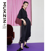 Mukzin Designer Brand Black Jumpsuit - New Youth
