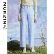 Mukzin Designer Brand Casual Wear Pants  - DRAGON SCALE PAVILION