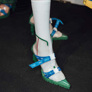 Mukzin Runway Show Edition Essential Balm High Heel Shoes- London 19SS