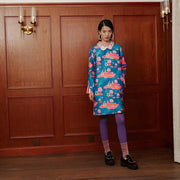 Mukzin Embroidered Modified-cheongsam Loose Sleeve Long dress - The Theater of Mao'er