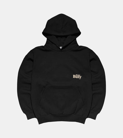 Always Busy 14oz 475GSM Heavyweight Hoodie - Made in USA SORRYIMBUSY