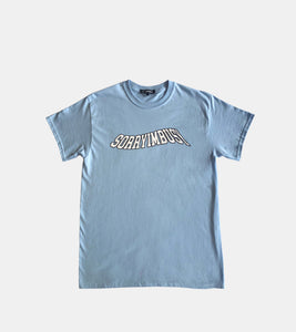 'WAVE' T-Shirt - Baby Blue