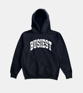 BUSIEST PREMIUM HEAVYWEIGHT 13.5oz 450GSM HOODIE BY SORRYIMBUSY