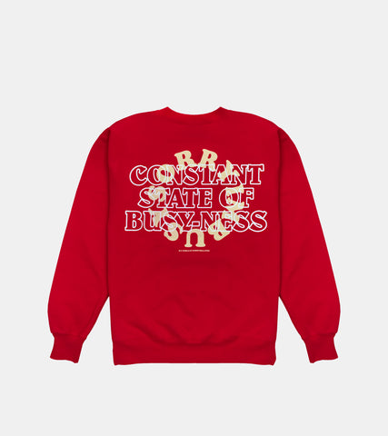 BUSY-NESS Crewneck - SORRYIMBUSY