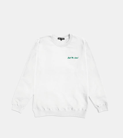 Call Me Later! Crewneck - SORRYIMBUSY