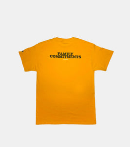 'FAMILY COMMITMENTS' T-Shirt - SORRYIMBUSY