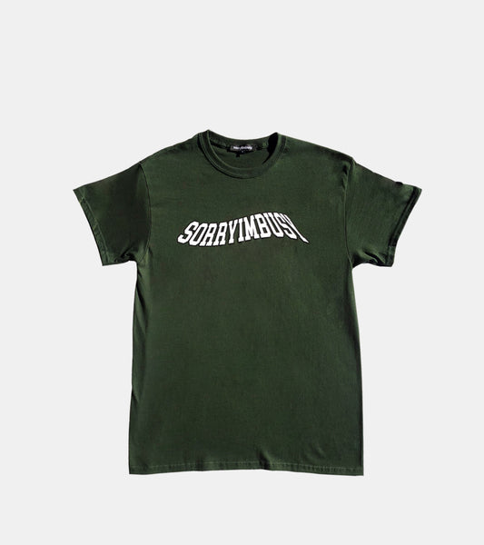 'WAVE' T-Shirt - Dark Green