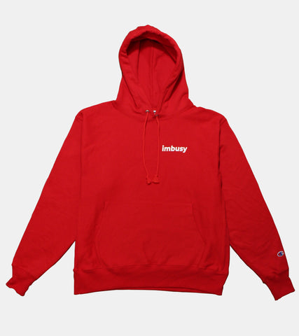 sorryimbusy - Reverse Weave Hoodie - SORRYIMBUSY
