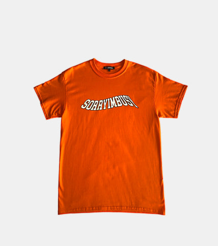 'WAVE' T-Shirt - Orange