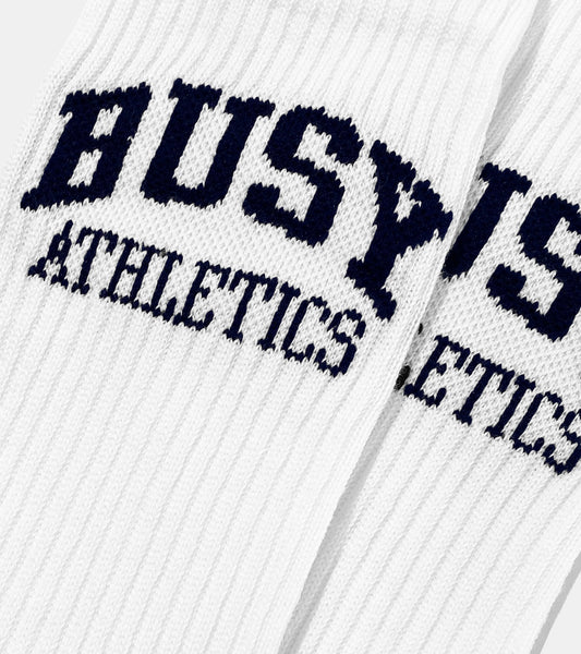 Busy Athletics Half Terry Socks - SORRYIMBUSY