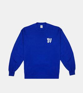 Spellout Longsleeve T-Shirt - Royal