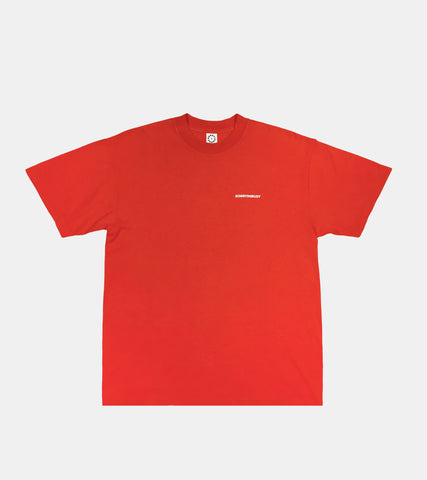 Logotype T-Shirt - Red - SORRYIMBUSY