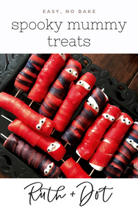 Spooky Halloween Mummy Treats