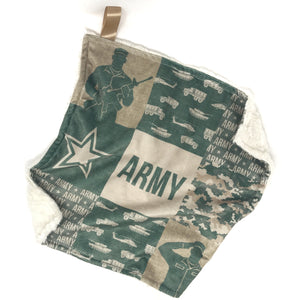 Army - Lovey Blanket