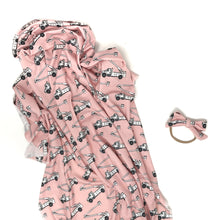 Load image into Gallery viewer, Pink Lineman - Swaddle