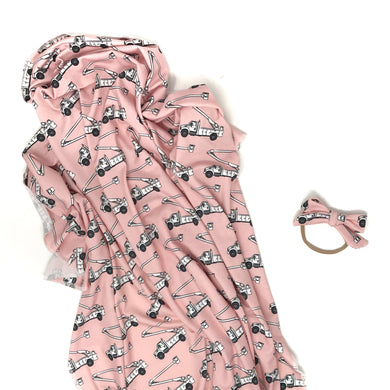 Pink Lineman - Swaddle