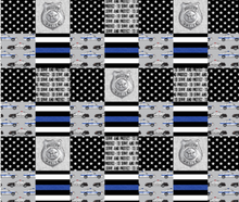 Load image into Gallery viewer, Police - Minky Blanket
