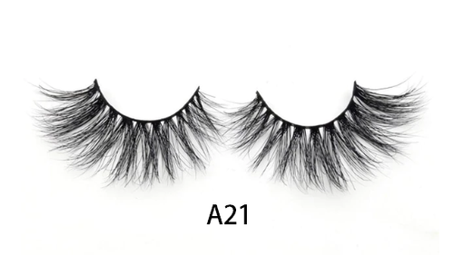 3D Mink eye lashes dramatic volume eyelashes -  A21
