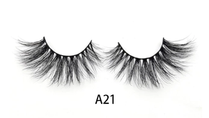 3D Faux Mink eye lashes dramatic volume eyelashes -  A21