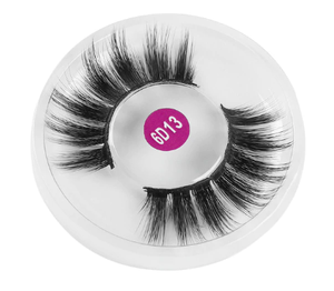Faux Mink Eyelashes 3D - Criss-cross Feathery Wispy Lashes