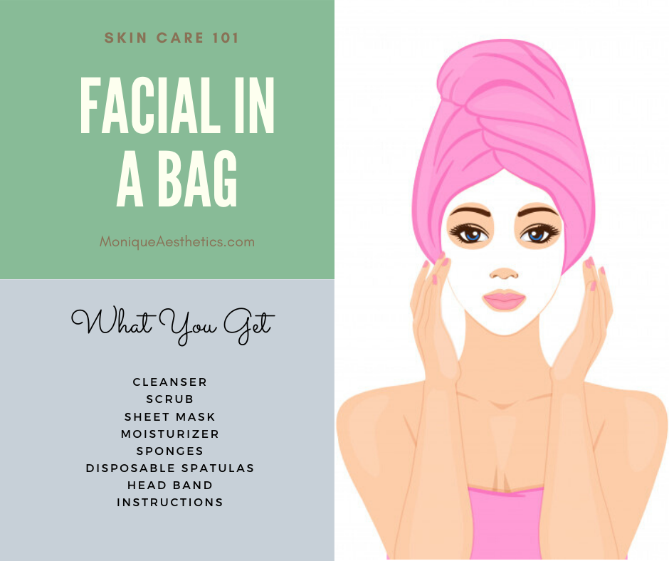 Facial in a bag