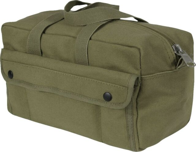 Small Scrambler Pannier Bag - Olive