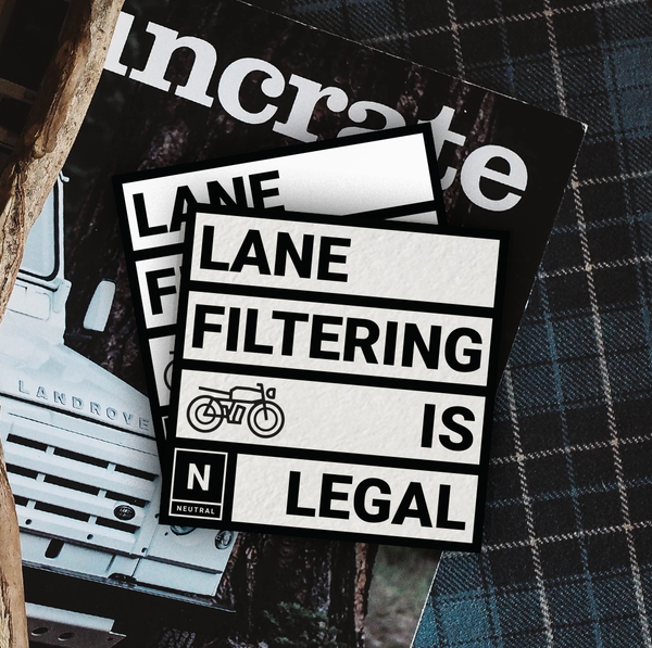 Lane Flitering Sticker