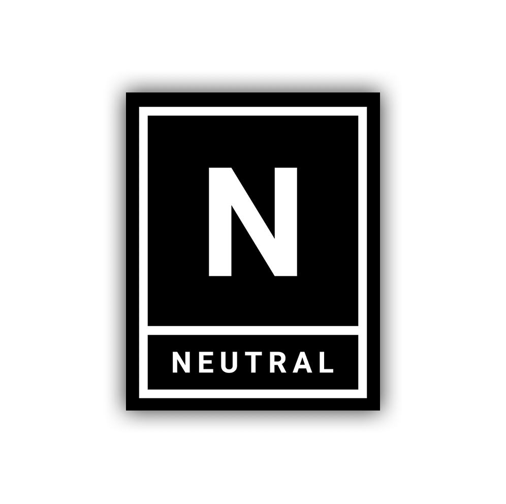 Neutral Moto Classic Sticker