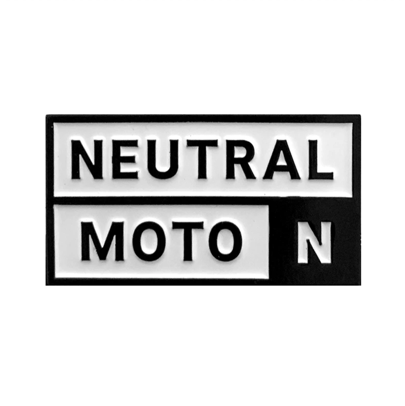 Neutral Moto Enamel Pin