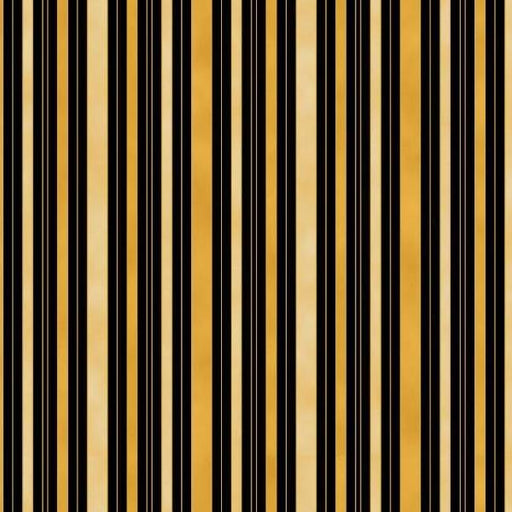 Chandler's Cottage - Hampton Stripe Black/Gold/Cream