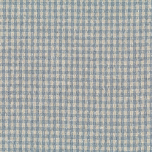 Stof - Shabby Chic - Blue Gingham