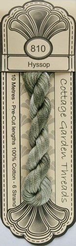 Cottage Garden Threads - 810 - Hyssop