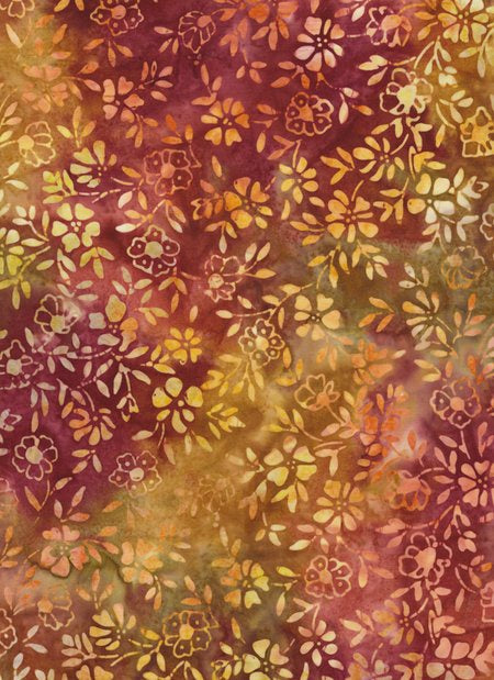 Anthology Batiks - Autumn Sprigs