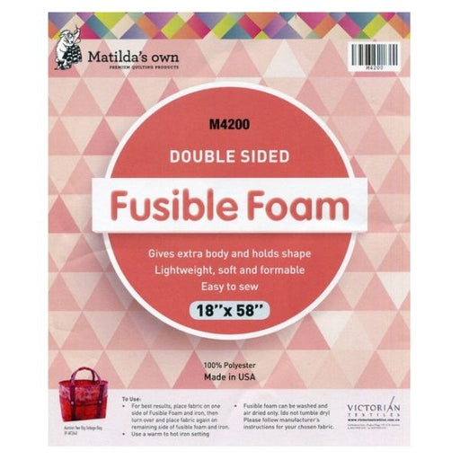 "Foam Double Sided Fusible - 18"" x 58"""
