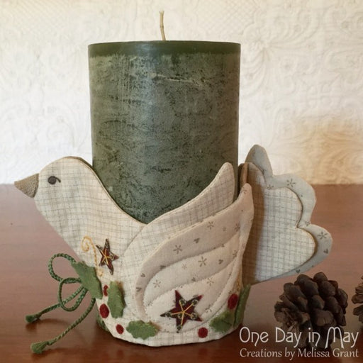 A Merry Dove Jar Wrap Pattern