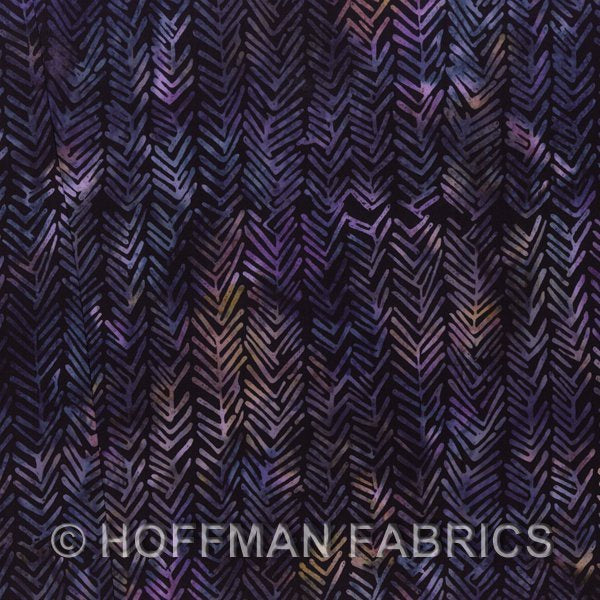Bali Batiks Plus - Herringbone Mulberry