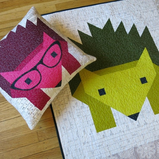 Hazel Hedgehog II Quilt + Pillow Pattern