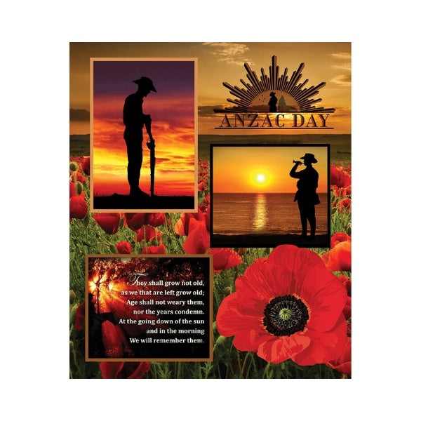 Remembering - ANZAC Panel