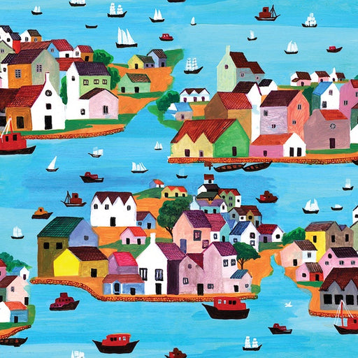 "French Fantasy - Burano Provence - 63"" Wide"
