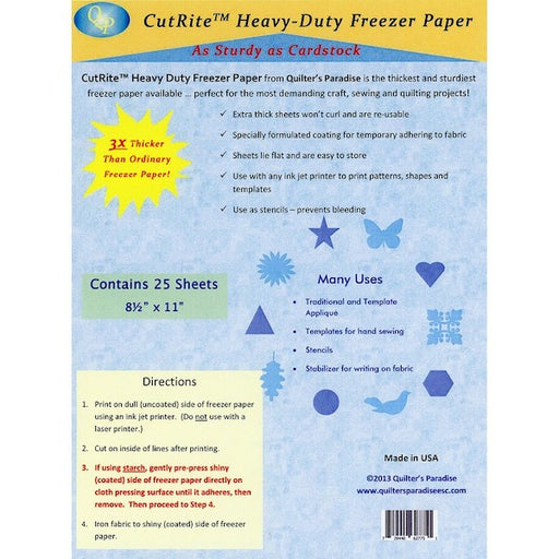 CutRite Heavy Duty Freezer Paper Pack
