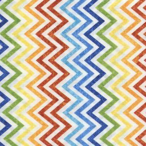 Stonehenge Co Ordinates - Mini Chevrons - Rainbow