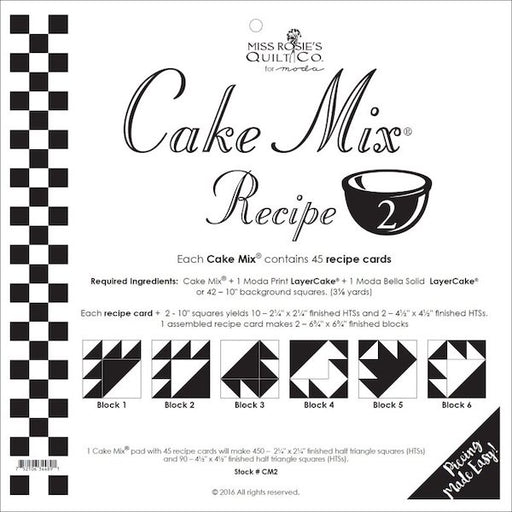 Cake Mix Recipe TWO