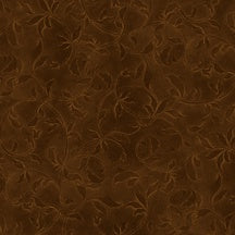Complementary Vines - Brown 110 inch wide 95cm x 275cm