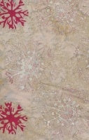 Anthology Batik - Red Snowflake