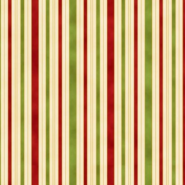 Chandler's Cottage - Hampton Stripe Red/Green/Ivory