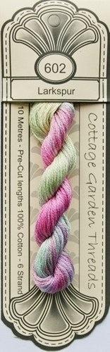 Cottage Garden Threads - 602 - Larkspur